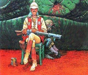 04-Jean-Giraud-aka-Moebius-Hunter-300x255