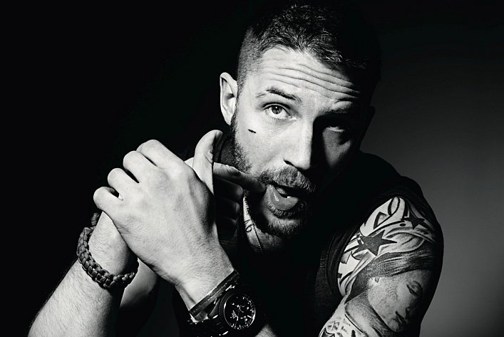 Tom Hardy se la joue motard ! dans Films tom-hardy-dazed-01